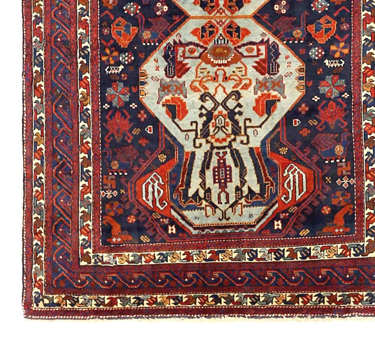 Other Antique Russian Area Rug Russian Design For Sale