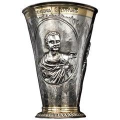 Antique Russian Commemoration Vase