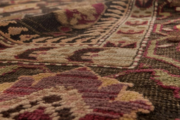 Antique Russian Karabagh Rug In Good Condition In New York, NY