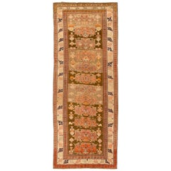 Antique Russian Runner Rug Karebagh Design