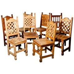 Antique Rustic Chairs