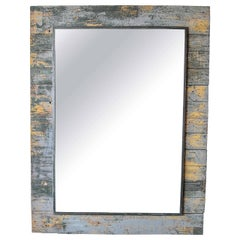 Antique Rustic French Large Mirror Frame