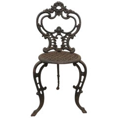 Antique Rustic Victorian Garden Chair