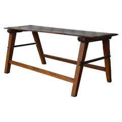 Antique Rustic Wood Table