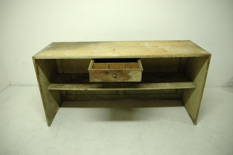 Antique Sales Counter, Work Table from the 1920s, Bohemia For Sale 8