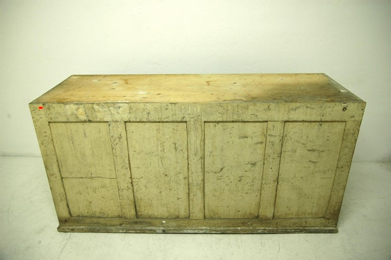 Antique Sales Counter, Work Table from the 1920s, Bohemia For Sale 9