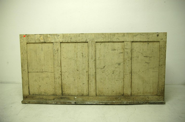 Antique Sales Counter, Work Table from the 1920s, Bohemia For Sale 12