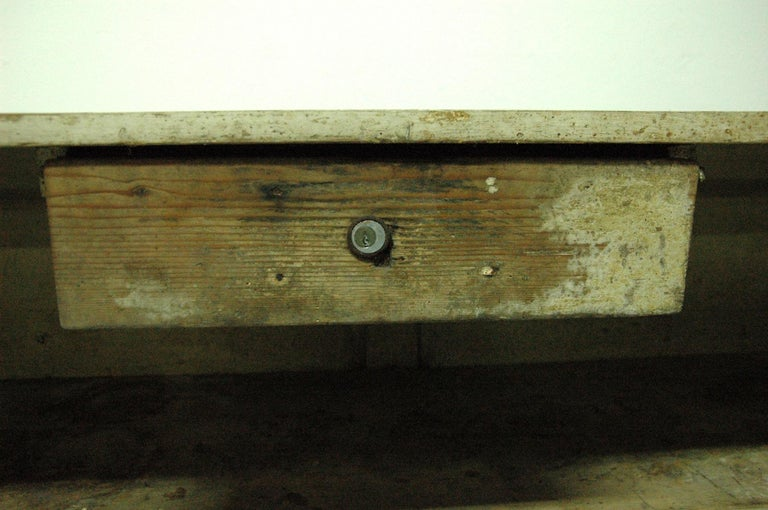 Antique Sales Counter, Work Table from the 1920s, Bohemia For Sale 2