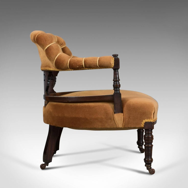 Antique Salon Chair, English, Victorian, Bedroom Armchair, Classical, circa  1860 In - Antique Salon Chair, English, Victorian, Bedroom Armchair, Classical