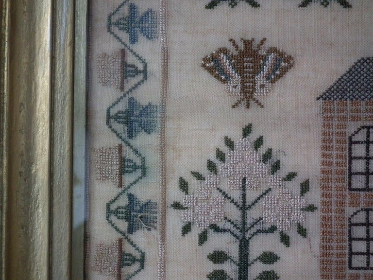Antique Sampler, 1832 by Jane Bennett 4