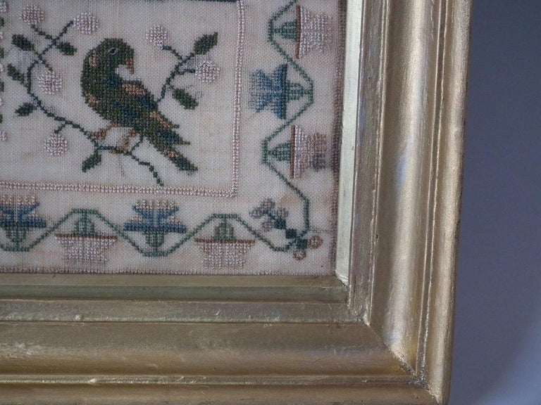 Antique Sampler, 1832 by Jane Bennett 1