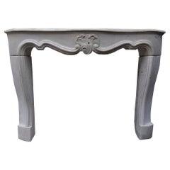 Antique Finish Sandstone Fireplace Mantel