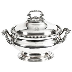 Antique Sauce Tureen Entree Dish by Elkington & Co., 19th Century