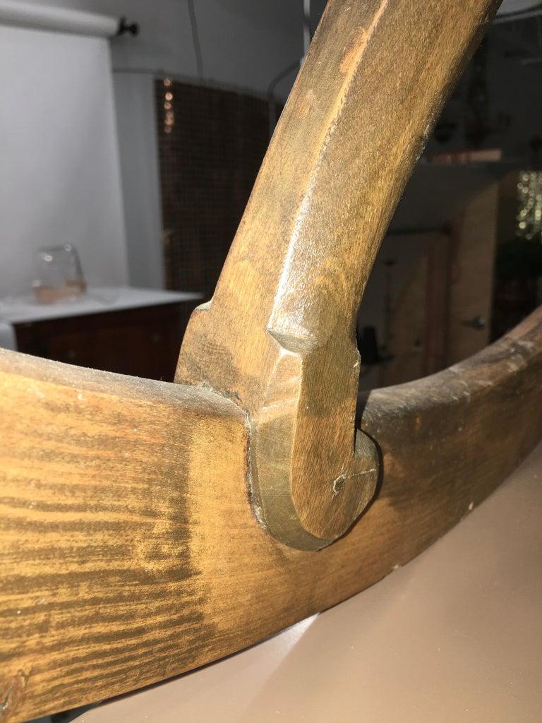 Antique Scandinavian Rocking Chair For Sale 9