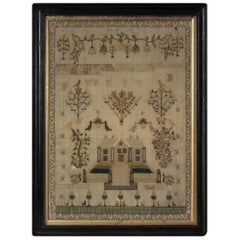 Antique Scottish Sampler, 1812 by July Orr
