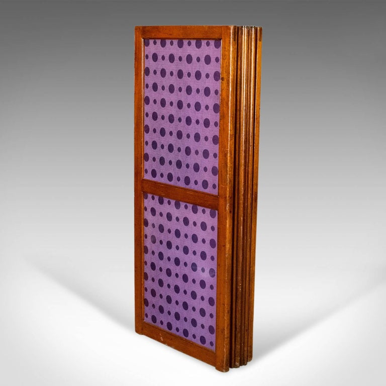 Antique Screen English Victorian Room Divider Photographers Prop