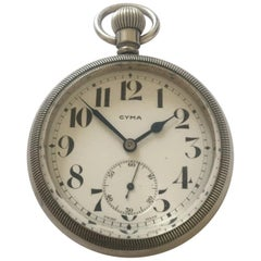 Antique Screw-Back Cyma Pocket Watch
