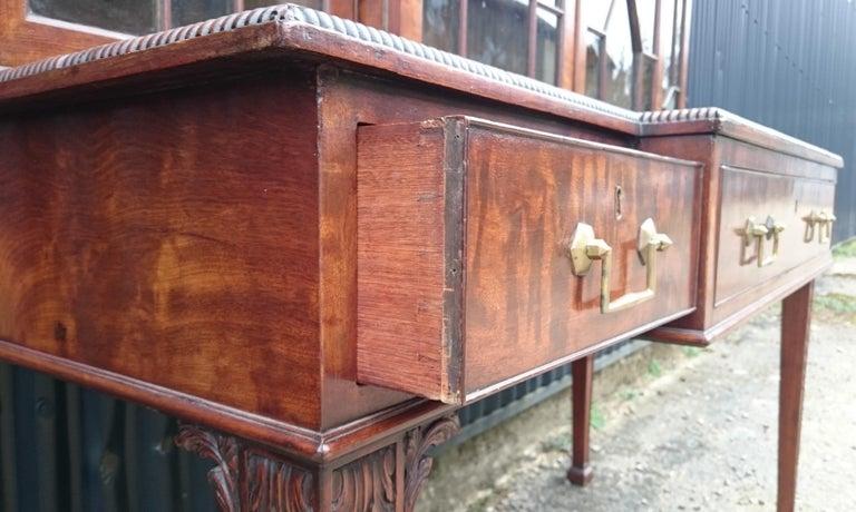 Antique Secretary Bookcase For Sale 2