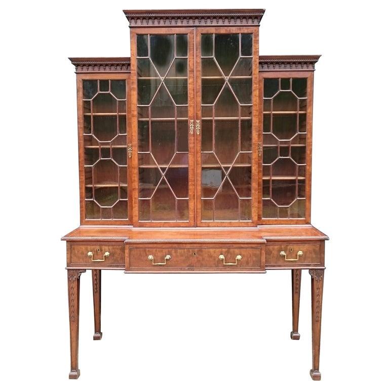 Antique Secretary Bookcase For Sale