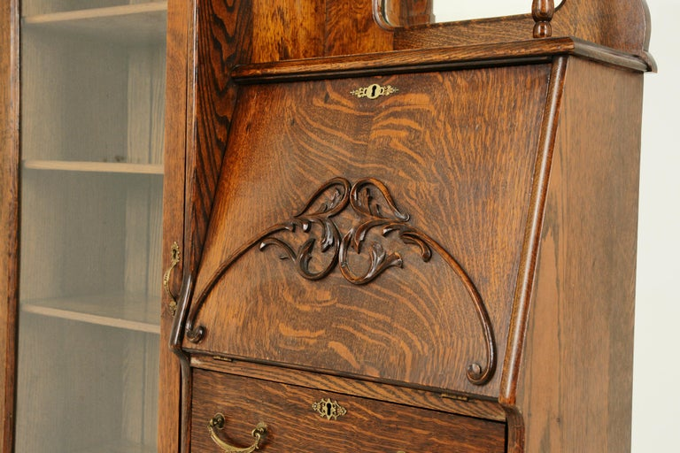 Antique Secretary Desk Antique Bookcase Side By Side