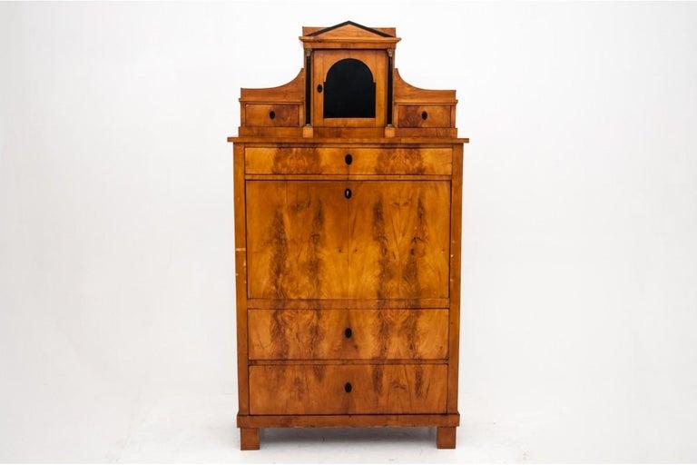 Swedish Antique Secretary Desk, Empire Style, circa 1820 For Sale