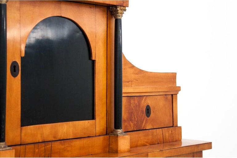Antique Secretary Desk, Empire Style, circa 1820 For Sale 3