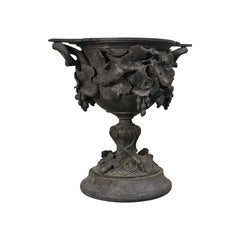 Antique Serving Cup, Continental, Bronze, Goblet, 18th Century, Georgian
