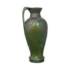 Antique Serving Ewer, Austrian, Ceramic, Amphora, Jug, Art Nouveau, circa 1900