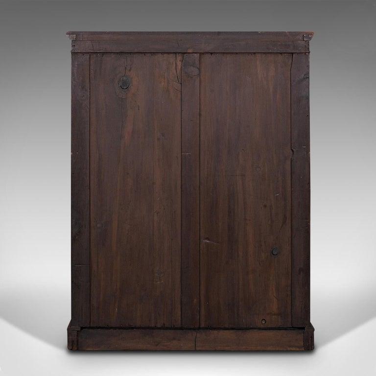Antique Set of Bookshelves, English, Walnut, Open Bookcase, Victorian, C.1880 For Sale 1