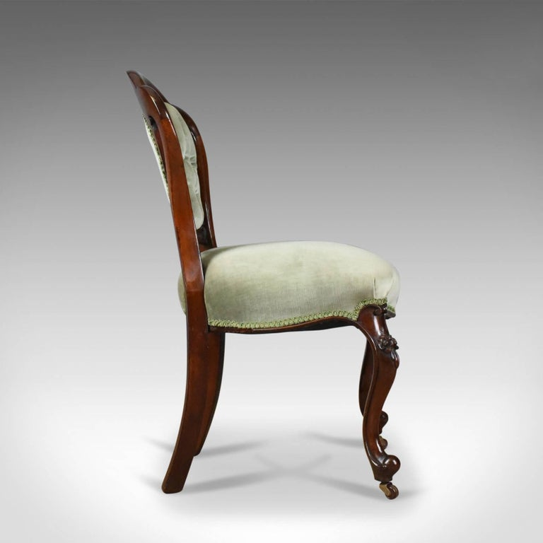 Antique Set of Six Dining Chairs, English, Regency, Mahogany, circa 1830 In Good Condition For Sale In Taunton, GB