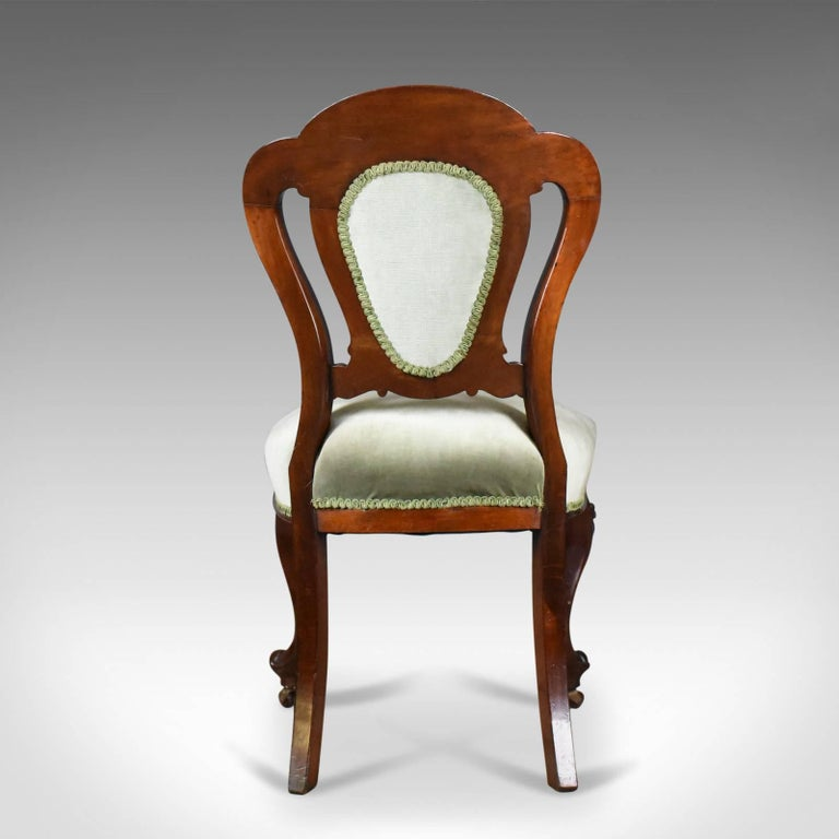 19th Century Antique Set of Six Dining Chairs, English, Regency, Mahogany, circa 1830 For Sale