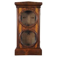 Antique Seth Thomas Rosewood Office Calendar No 2 No 3 Clock Case Federal