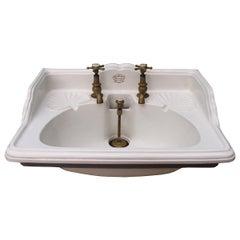 Antique 'Shanks & Co.' Wash Basin or Sink