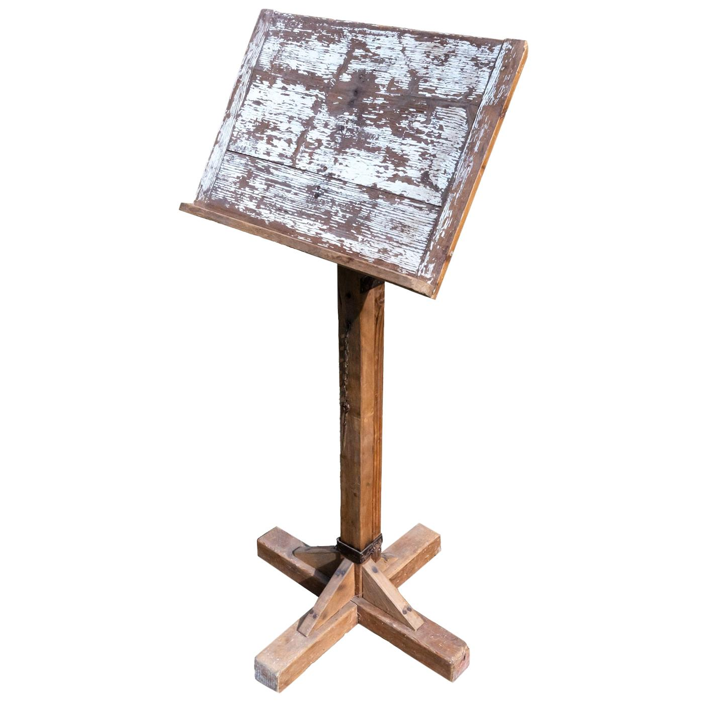 Antique Sheet Music Stand, France