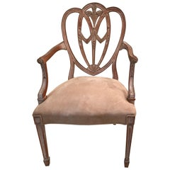 Antique Sheraton Style Armchair