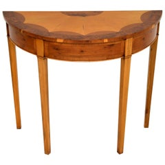Antique Sheraton Style Console Table