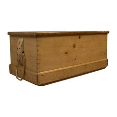 Antique Shipwrights Chest, Victorian Coffer, English, Mid-19th Century, 1850