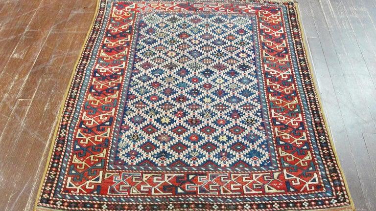 Antique Shirvan Caucasian Rug For Sale 1
