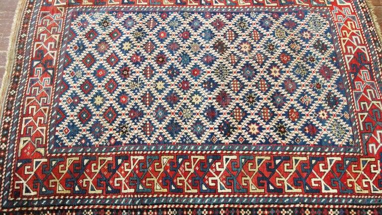 Antique Shirvan Caucasian Rug For Sale 2