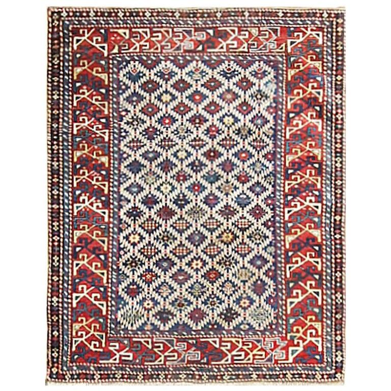 Antique Shirvan Caucasian Rug For Sale
