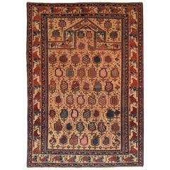 Antique Shirvan Caucasian Russian Rug