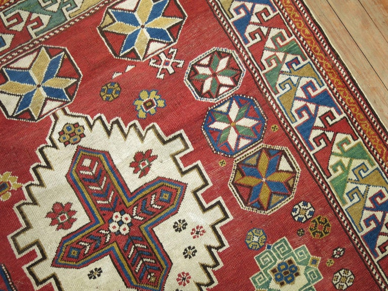 20th Century Antique Shirvan Rug For Sale