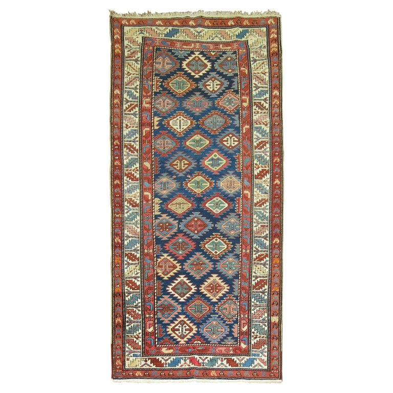 Antique Shirvan Short Runner For Sale