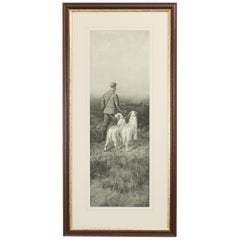 Antique Shooting Print by George Earl, First Beat