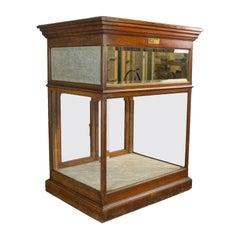 Antique Shop Display Cabinet, English, Edward Willows, Patented, circa 1905