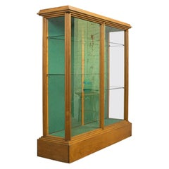 Shop Display Cabinet, English, Victorian Fitting, Ash, Fitting, circa 1900