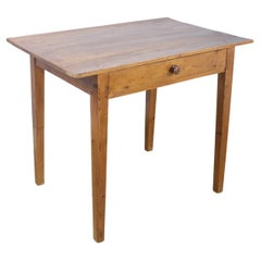 Antique Side or Writing Table in Pine