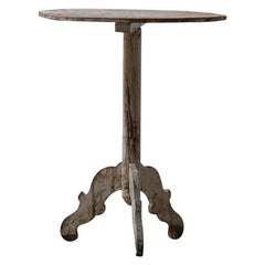 Antique Side Table from Spain, Late 19th Century
