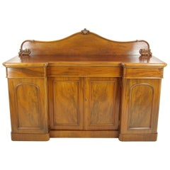 Antique Sideboard, Walnut Buffet, Chiffonier, Scotland, 1880, B1155