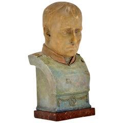 Antique Signed Bust of Napoleon Bonaparte